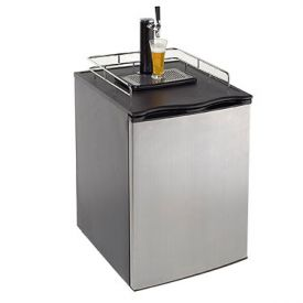 Enlarge Avanti Kegerator - BD7000 Quarter or Half Beer Dispenser - Stainless Steel Door