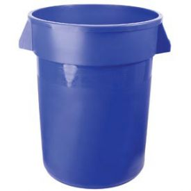 Enlarge Brute - 32 Gallon Blue Keg Bucket with Plastic Handles