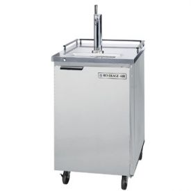 Enlarge Beverage-Air Kegerator BM23-S-31 Outdoor Commercial Beer Cooler - Stainless Steel