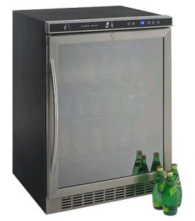 Enlarge Avanti BCA5105SG1 5.3 Cu. Ft. Beverage Center - Stainless Steel Glass Door