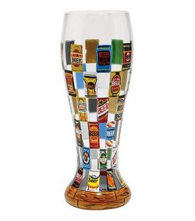 Enlarge Beer Wall Pilsner Glass by Lolita Gotta Love Beer Collection