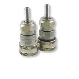 Enlarge Stainless Steel Ball Lock Hansen Keg Home Brew Keg Tap - 1/4in. Barb - Straight