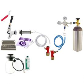 Enlarge Kegco Ultimate Door Mount Kegerator Keg Tap Conversion Kit - Pin Lock