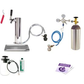 Enlarge Kegco Ultimate Tower Kegerator Conversion Kit - Ball Lock