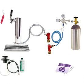 Enlarge Ultimate Tower Kegerator Conversion Kit - Pin Lock