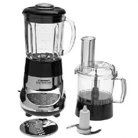 Enlarge Cuisinart BFP-703CH SmartPower Duet Blender/Food Processor - Chrome