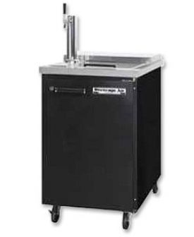 Enlarge Beverage Air Kegerator BM23C-1-B Club Top Beer Cooler - Black Vinyl
