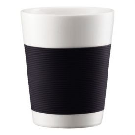 Enlarge Bodum 10109-01 CANTEEN 2 Pcs. Double-Wall Medium Mug, 0.2 L.