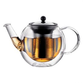 Enlarge Bodum 10280-10 BORA BORA 2 Cup Double Wall Tea Press, 0.5 L.