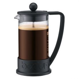 Enlarge Bodum 10948-01BUS BRAZIL 3 Cup Coffee Plunger, 0.35 L.