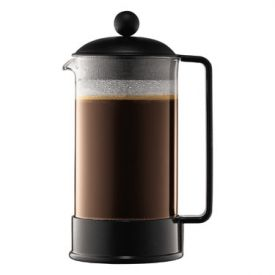 Enlarge Bodum 1548-01US BRAZIL 8 Cup Glass French Press, 1 L.