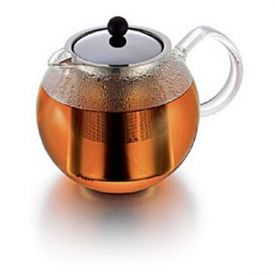 Enlarge Bodum 1802-16 ASSAM 12 Cup Tea Press w/ S.S. Filter, 1.5 L.