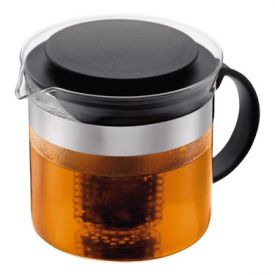 Enlarge Bodum 1875-01 BISTRO NOUVEAU 4 Cup Tea Pot, 1 L.