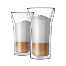 Enlarge Bodum 4547-10US ASSAM 2 Pcs. Double Wall Glass, 0.4 L.