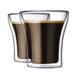 Enlarge Bodum 4555-10 ASSAM 2 Pcs. Double Wall Small Glass, 0.2 L.