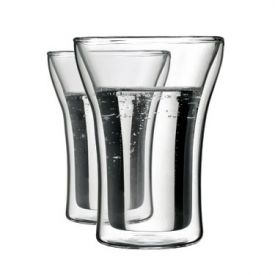 Enlarge Bodum 4556-10 ASSAM 2 Pcs. Double Wall Medium Glass, 0.25 L.