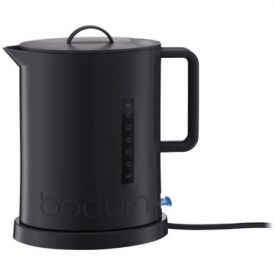 Enlarge Bodum 5500-01US IBIS Cordless Black Water Kettle, 1.7 L.