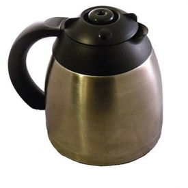 Enlarge Capresso 4455.05- 10-Cup Stainless Steel Replacement Carafe