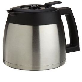 Enlarge Capresso 4465.05 - 10-Cup Stainless Steel Replacement Carafe