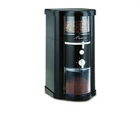 Enlarge Capresso 580 Disk Type Burr Grinder - Black ABS Housing