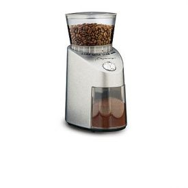 Enlarge Capresso 565.05 Infinity Conical Burr Grinder - Brushed Stainless Steel