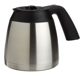 Enlarge Capresso 4445.05 - 10-Cup Stainless Steel Replacement Carafe