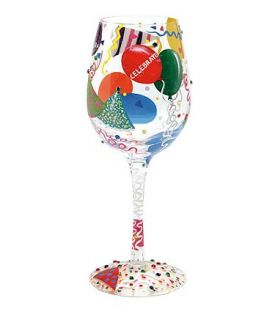 Enlarge Celebrate Wine Glass by Lolita Love My Wine Stemware Collection