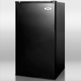 Enlarge Summit CM40B Black 3.9 c.f. Compact Refrigerator Freezer