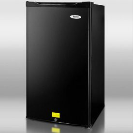 Enlarge Summit CM420ESBL 4.1 cf Compact Refrigerator-Freezer - Black [Energy Star]