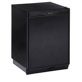 Enlarge U-Line 1000 Series CO1175B-00 Ice Maker/Refrigerator - Black Cabinet with Black Door