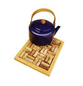 Enlarge Cork Board Trivet Kit