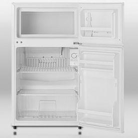Two Door Compact Refrigerator