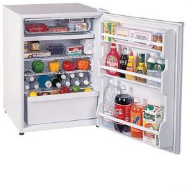 Enlarge Scratch & Dent - Summit CT70 6.0 cf Refriegerator Freezer - White w/Custom Panel Door