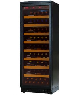 Enlarge Allavino CWR271-1BB 107 Bottle Single-Zone Wine Cellar Refrigerator - Black Cabinet with Black Door