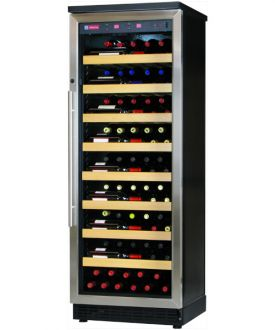 Enlarge Allavino CWR270-1BS 107 Bottle Single-Zone Wine Cellar Refrigerator - Black Cabinet with Stainless Steel Door
