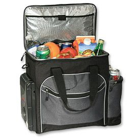 Enlarge Koolatron D25 26-Qt. 12V Thermoelectric Travel Cooler - Soft Bag