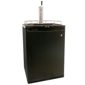 Enlarge Danby DKC645BL Full-Size Kegerator - Black Cabinet with Black Door