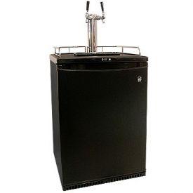 Enlarge Danby DBF163BL-2 Dual Faucet Full-Size Kegerator - Black