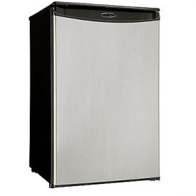 Enlarge Danby DAR125SLDD 4.4 Cu. Ft. Counter High Refrigerator - Black Cabinet with Stainless Steel Door