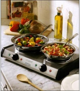 Enlarge Waring Pro DB60 Portable Double Burner