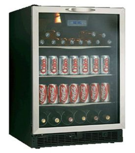 Enlarge Danby DBC514BLS 5.3 Cu. Ft. Beverage Center - Stainless Steel Door