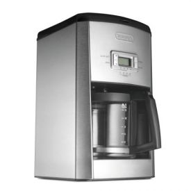 Enlarge DeLonghi DC514T 14-Cup Coffee Maker - Brushed Stainless Steel