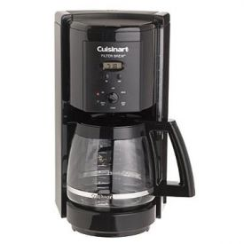 Enlarge Cuisinart DCC-1000BK Filter Brew 12-Cup Programmable Coffeemaker - Black