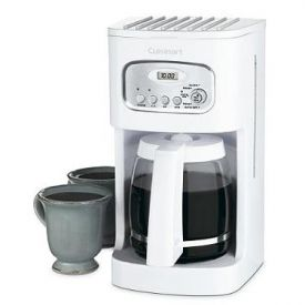Enlarge Cuisinart DCC-1100 12-Cup Programmable Coffeemaker - White