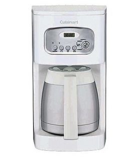 Enlarge Cuisinart DCC-1150 10 Cup Programmable Thermal Coffeemaker - White