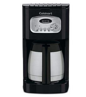 Enlarge Cuisinart DCC-1150BK 10 Cup Programmable Thermal Coffeemaker - Black