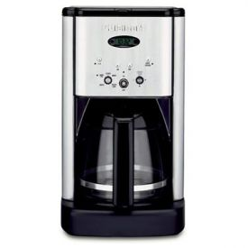 Enlarge Cuisinart DCC-1200 Brew Central 12 Cup Coffeemaker - Black / Brushed Stainless
