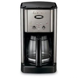 Enlarge Cuisinart DCC-1200BCH Brew Central 12 Cup Coffeemaker - Black Chrome