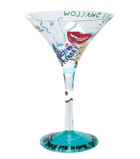 Enlarge Dentist-tini Martini Glass by Lolita Love My Martini Collection