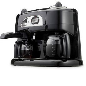 Enlarge Delonghi BCO130T Combination Espresso & Coffee Machine